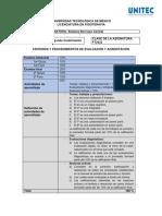 Sistema de Evaluación Sistema Nervioco Central 21-2