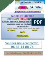 °TDS MECANIQUE SOLIDE FPS-SAFI SMA4 2020.pdf