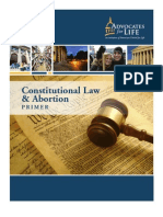 Constitutional Law and Abortion Primer