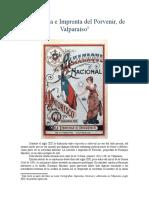 La Librería e Imprenta del Porvenir, de Valparaíso.
