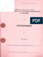 Invertebrados Programa