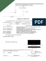 Jon Schaffer - FBI Complaint and Statement of Facts