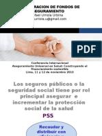 ADMINISTRACION DE FONDOS DE ASEGURAMIENTO