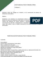 DISEÑO DE PILOTES Y CABEZALES