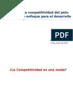 La competitividad del país