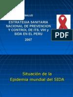 Situacion Vihsida Peru