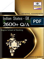 2600+ Indian States Complete GK-Magme School of Banking
