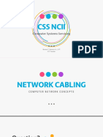 Computer Systems Servicing NC II - Network Cabling