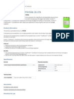 FUEL POWER CONDITIONER - PDS