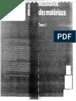 1968 - Résistance Des Matériaux_Tome 1 - Timoshenko