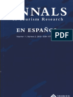 Annals of Tourism Research en Español