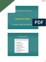Lexeme Formation