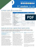 Lettre tram spéciale soudure Ligne D WEB