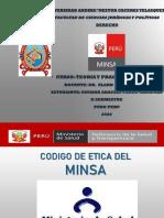 CODIGO DE ETICA MINSA