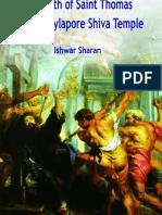 The Myth of Saint Thomas and the Mylapore Shiva Temple (2019) - Ishwar Sharan