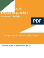 Fernão lopes_ contexto