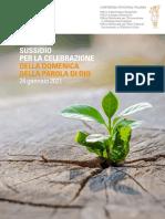 Sussidio Domenica Della Parola Di Dio - 24 Gennaio 2021