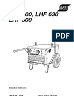 ESAB LHF 400 - Manual + CE PT