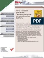 PHP5. Tworzenie stron WWW. Cwiczenia praktyczne