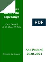 Carta Ano Pastoral 2020-21