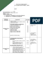 Plan Antrenament Gradul 2 Clasa X