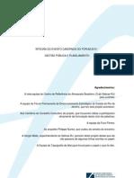 Notas taquigráficas Cadernos do Fórum Gestao e Planejamento