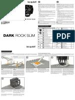 Dark rock slim manual