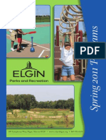 Elgin Parks and Recreation 2011 Spring Brochure