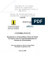 07-Biopelículas en alcantarillados - Efecto de medios de soporte sobre la capacidad hidráulica
