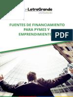 Guía para emprendedores_ Fuentes de financiamiento para Pymes y emprendimientos