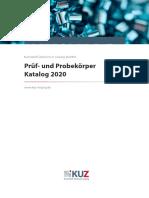 Formteilkatalog_Pruef-_und_Probekoerper_KUZ