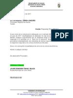 OFICIO PROCURADURIA CODIGO DE POLICA