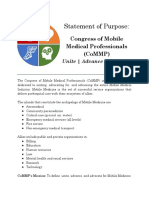 CoMMP Statement of Purpose