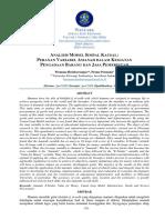 Analisis Simpal Kausal Perencanaan PBJ