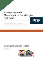 Planejamento da manutenção e substituição de frota.pdf
