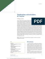 Manifestations ostéoarticulaires de l'amylose