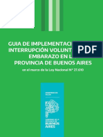 Guía de Implementación de la Interrupción Voluntaria del Embarazo