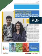 PEN2036 | Proyecto Educativo Nacional promueve el bienestar socioemocional de los peruanos y peruanas