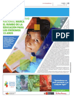 PEN2036 | Proyecto Educativo Nacional marca el rumbo para los próximos 15 años