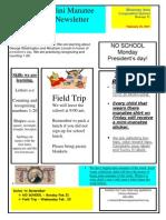 VPK newsletter