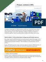 cmcenter.com.br-FISPQ Acetileno  Perigos cuidados e EPIs