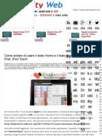 Come evitare di usare il tasto Home e il tasto Power su iPhone, iPad, iPod Touch | Mobility Web