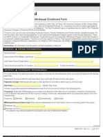 Prudential Systematic Withdrawal Form