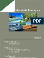 A Responsabilidade Ecológica