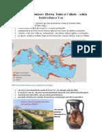 Procesul de colonizare - Histria, Tomis Calatis