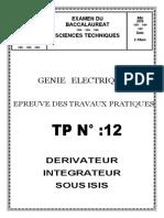 TP_12_Dérivateur Intégrateur