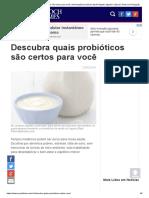 probióticos certos para você _ alimentação saudável _ April Reigart _ digestivo _ Epoch Times em Português
