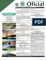 Edital no Diário Oficial