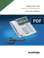 Dialog 4187 Plus. Manuel de l'utilisateur. Plate-forme de communication BusinessPhone
