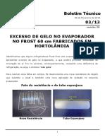 Manual de serviços geladeira GE